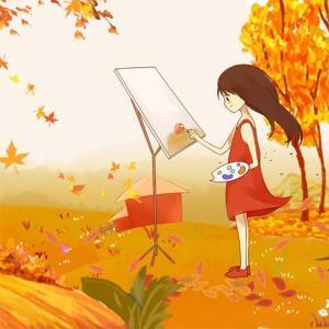 Cartoon Autumn Puzzle
