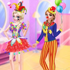Frozen Sisters April Fool Joy