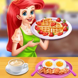 Princess Ariel Breakfast Cooking 2