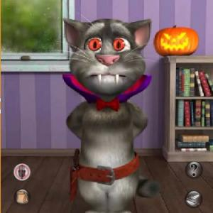 Tom Cat Halloween Fun