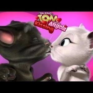 Tom Cat Kissing