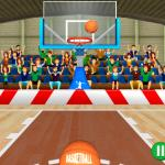 3d Basketball