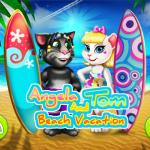 Angela And Tom Beach Vacation
