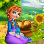 Anna Mommy Gardening