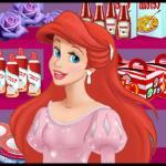 Ariel Cooking Wedding Cake