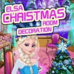 Elsa Christmas Room Decoration
