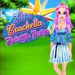 Elsa Coachella Hairstyle Design