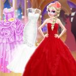 Elsa Different Wedding Dress Style