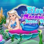 Elsa Mermaid Dress Up