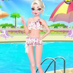 Elsa Pool Party Online Shopping