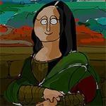Famous Paintings Parodies: Memory Tiles