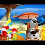 Frozen Olaf beach Resort