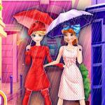 Frozen Sisters Shopping In Paris
