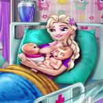 Pregnant Elsa Twins Birth